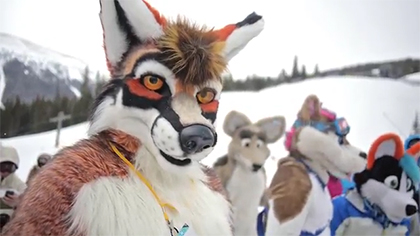 Furry Ski Weekend 2014