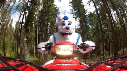 ATV Fursuiting