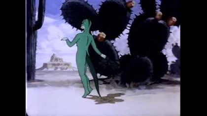 Warner Brothers: Anthro Lizard