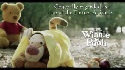 Winnie The Pooh: Fiercer animals