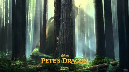 """Pete's Dragon"" Motion Poster"