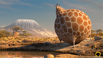 ROLLIN' WILD: Giraffe