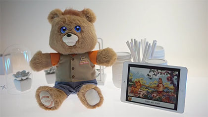 Teddy Ruxpin : First Look