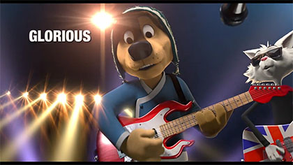 "Rock Dog: ""Glorious"" music video"