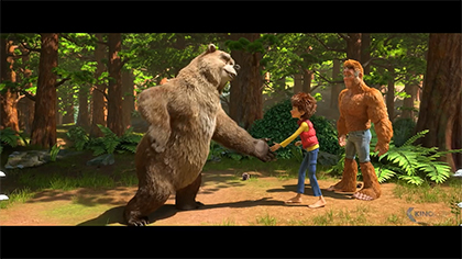Trailer: Bigfoot Junior (German)