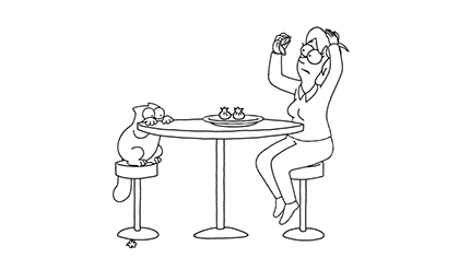 Simon's Cat: Dinner Date
