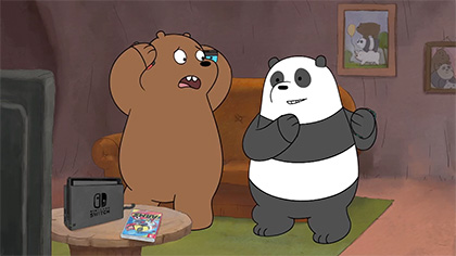 We Bare Bears: Nintendo Switch