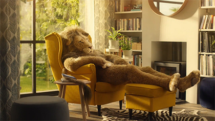 Commercial: Lion Man (Ikea)