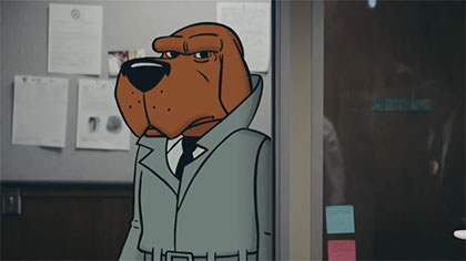 Commercial: McGruff Fights Baby Talk