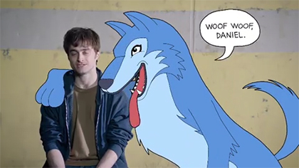 Daniel Radcliffe Is a Furry