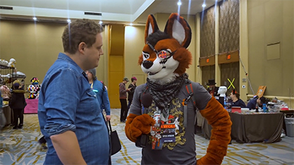 Inside a Furry Convention