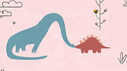 Fenn Rosenthal – Dinosaurs in Love