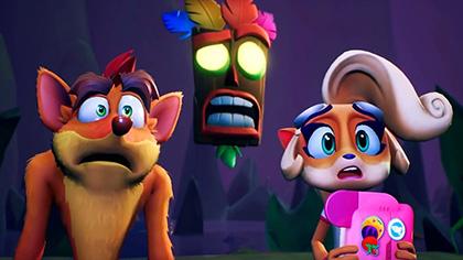 Crash Bandicoot: Odda-Booda Boogie